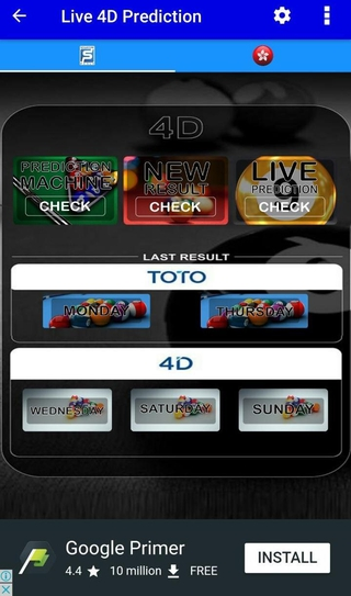 Live 4D Prediction APK 3 3 8 - download free apk from APKSum