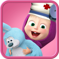 Masha and the Bear. Toy doctor APK