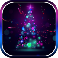 3D Christmas Tree Live Wallpaper 105 Icon
