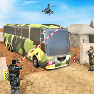 Army Bus Driver Transport Soldiers APK