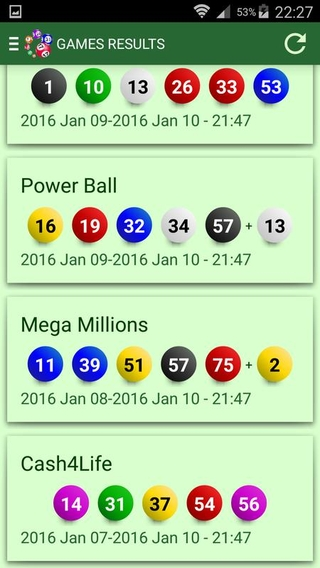 Lottery Numbers APK 1 4 70 - download free apk from APKSum