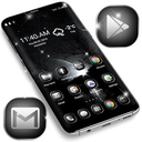 Black&White Launcher Theme APK