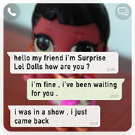 Chat with Suprise Lol Dolls APK