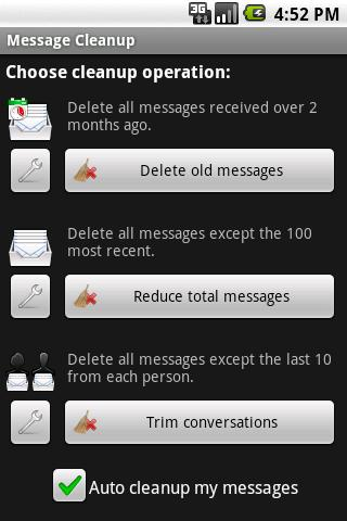 Message Cleanup APK 1 5 - download free apk from APKSum