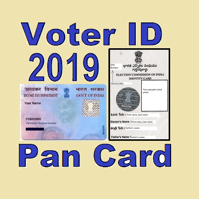 Voter ID Card And Pan Card All-2019 APK