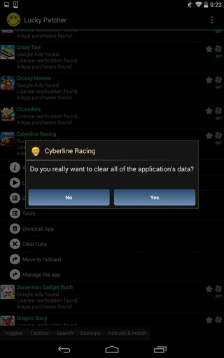 Lucky Patcher 6.5.2 apk screenshot