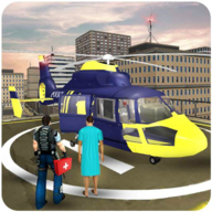 Police Helicopter Games: Flight Simulator Rescue APK