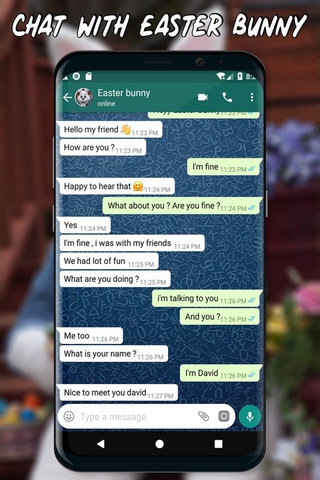 Chat with easter bunny APK 4 5 - download free apk from APKSum