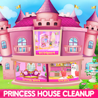 Princess House Cleanup For Girls APK