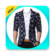 Men Blazer Photo Suit APK