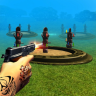 Bottle Shooting Games APK