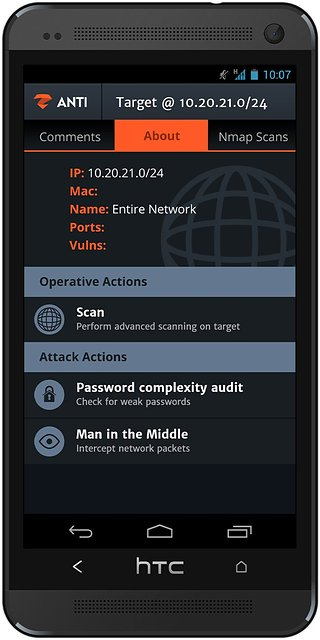 zANTI 2.5.0 apk screenshot