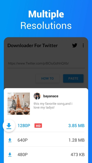 Downloader For Twitter Apk 1 0 9 Download Free Apk From Apksum