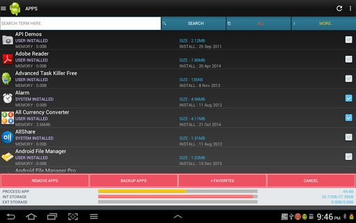 Android Task Manager Pro APK 2 9 2 - download free apk from