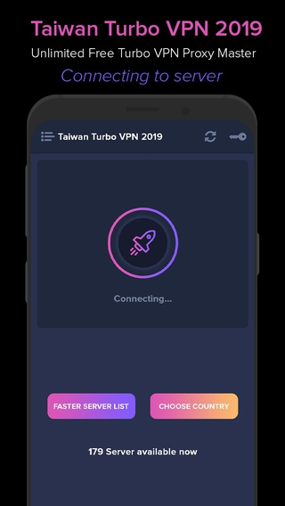 Taiwan VPN 2019 - Unlimited Free Turbo VPN Proxy Master APK 1 0