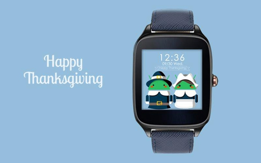 Thanksgiving for Android Watch Face APK 1 0 2 - download free apk