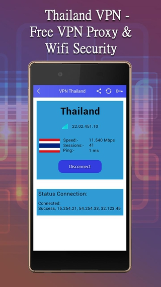 Thailand VPN-Free VPN Proxy And Wifi Security APK 3 0 - download