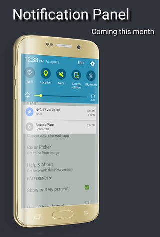 Material Status Bar APK 1 6 - download free apk from APKSum