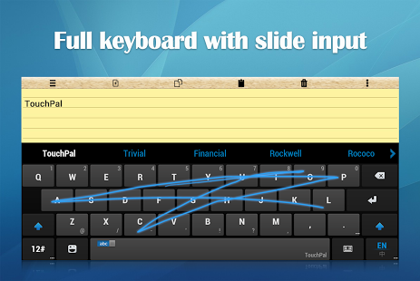 TouchPal Keyboard for Tablet APK 1 7 1 - download free apk from APKSum