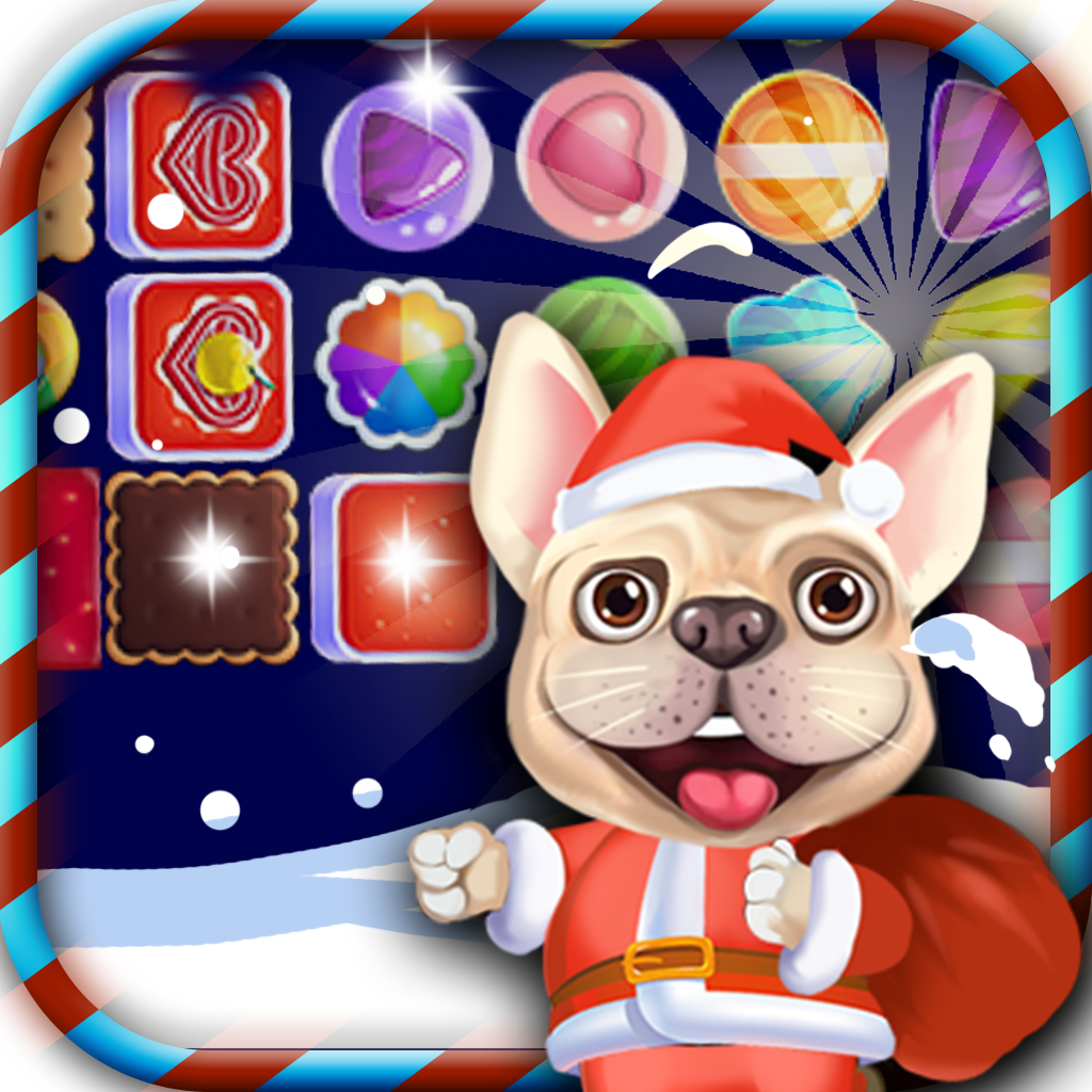 Bulldog Candy Match 3 APK
