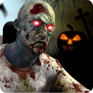 Real zombie hunter: FPS shooting in Halloween nights APK