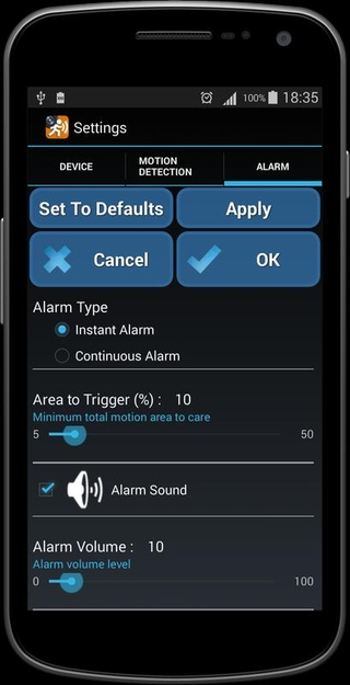 Motion Detector APK 1 77 - download free apk from APKSum