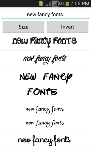 Fancy Fonts APK 1 22 - download free apk from APKSum