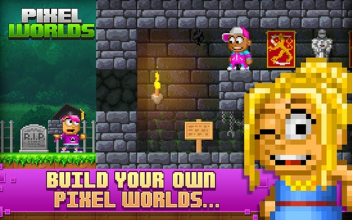 Pixel Worlds(Portal Worlds) 1.2.1 apk screenshot