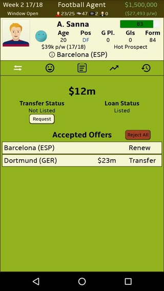 Football Agent Free APK 1 4 1 - download free apk from APKSum