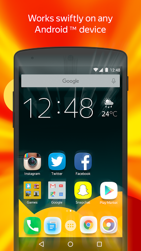 Yandex Launcher APK 2 3 0 - download free apk from APKSum