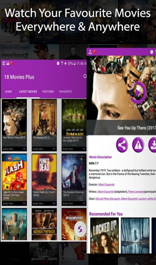 18 Movies Plus APK 1 0 - download free apk from APKSum