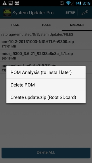 System Updater Pro APK 0 3 2 6 - download free apk from APKSum