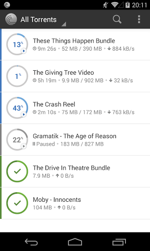 BitTorrent Pro 3.8 apk screenshot