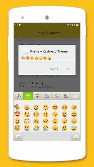 Emoji Keyboard 6 APK 5 60 - download free apk from APKSum
