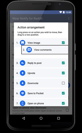 Wear Notify for Reddit APK 3 1 0 - download free apk from APKSum
