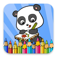 Cute Panda Coloring Book APK