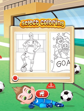Football Coloring Pages APK 924
