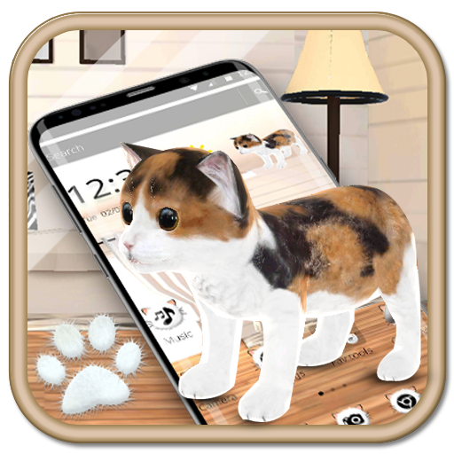 3d cute cat APK