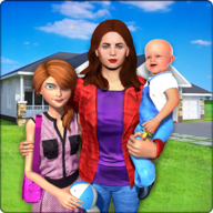 Virtual Family New Baby Single Mom Adventure APK