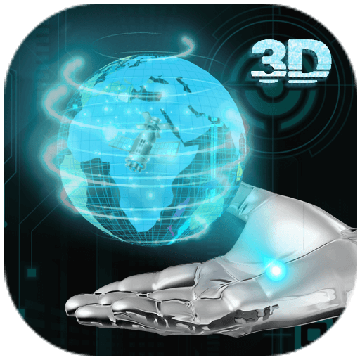 Transparent Earth 3D Theme APK
