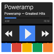 Poweramp Now Dark Skin APK