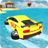 Water Impossible Car Race APK