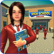 High School Girl Simulator: Virtual Life Game 3D APK