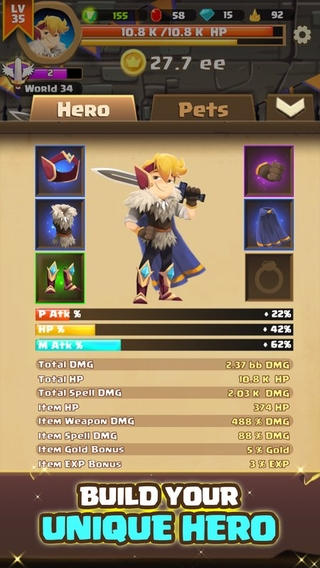 Clicker Knight: Idle Incremental RPG APK 28 - download free