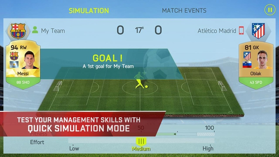 FIFA 15: UT 1.7.0 apk screenshot