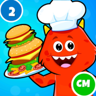 My Monster Town: Cooking Games APK