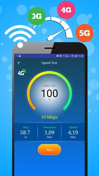 Wifi, 5G, 4G, 3G speed test APK 3 1 - download free apk from