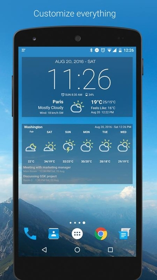 Android Weather APK 6 1 1 0 - download free apk from APKSum