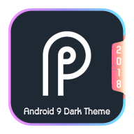 Android-P Dark Theme APK