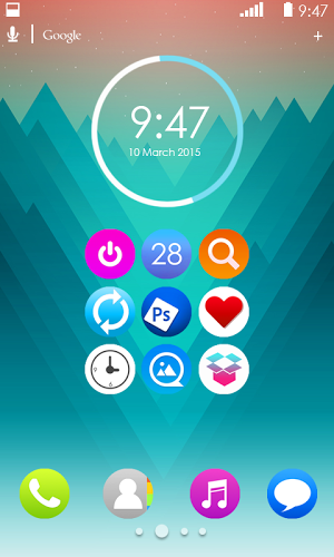 Around Icon Pack APK 2 0 - download free apk from APKSum